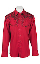 Rafter C Cowboy Collection Men's L/S Western Snap Retro Shirt RC7770405