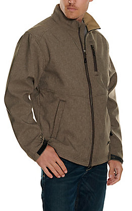 Rafter C Men's Heather Grey Softshell Jacket
