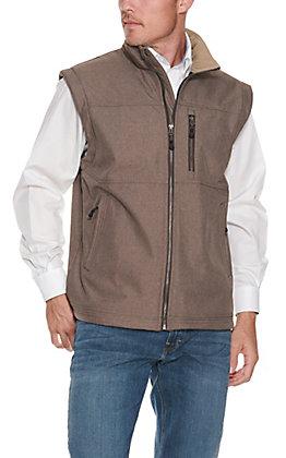 Rafter C Men's Heather Grey Softshell Vest