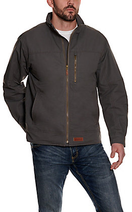 Rafter C Men's Grey Light Canvas Jacket