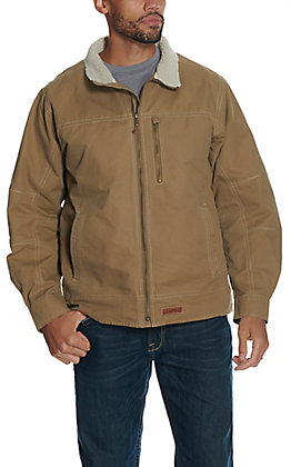Rafter C Men's Khaki with Sherpa Canvas Jacket