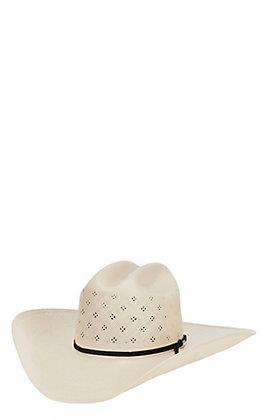 Resistol 20X Conley Natural Straw Tuf Vent Cowboy Hat