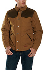 Rafter C Cowboy Collection Men's Camel Two Tone Insulated Jacket