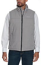 Rafter C Men's Canvas Dark Grey Puff Vest