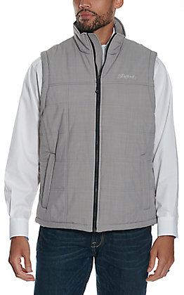 Rafter C Men's Grey Puff Softshell Vest