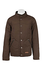 Rafter C Cowboy Collection Men's Mocha Insulated Jacket