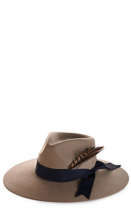Rockin' C Women's Taylor Mushroom With Grosgrain Ribbon Western Hat