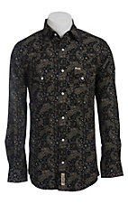 Rafter C Cowboy Collection Men's L/S Western Snap Shirt RCX1440710- Big & Tall Sizes
