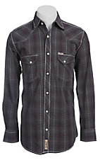 Rafter C Cowboy Collection Men's L/S Western Snap Shirt RCX1441405- Big & Talls