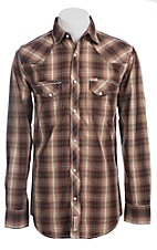 Rafter C Cowboy Collection Men's L/S Western Snap Shirt RCX1441406- Big & Talls