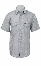 Rafter C Cowboy Collection Men's S/S Western Snap Shirt RCX1520905- Big & Talls