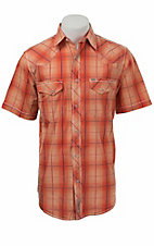 Rafter C Cowboy Collection Men's S/S Western Snap Shirt RCX1521405- Big & Talls