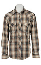 Rafter C Cowboy Collection Men's L/S Western Snap Shirt RCX1541702 - Big & Tall
