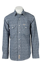 Rafter C Cowboy Collection Men's L/S Western Snap Shirt RCX1611404- Big & Talls