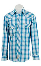 Rafter C Cowboy Collection Men's L/S Western Snap Shirt RCX1611408- Big & Talls