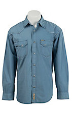 Rafter C Cowboy Collection Men's L/S Western Snap Shirt RCX1612602 - Big & Tall