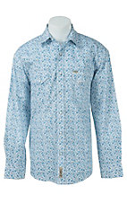 Rafter C Cowboy Collection Men's L/S Western Snap Shirt RCX1621303