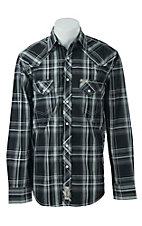Rafter C Cowboy Collection Men's L/S Western Snap Shirt RCX1621404 - Big & Tall