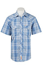 Rafter C Cowboy Collection Men's S/S Western Snap Shirt - Big and Tall - RCX1621703