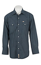 Rafter C Cowboy Collection Men's L/S Western Snap Shirt RCX1630705 - Big & Tall