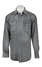 Rafter C Cowboy Collection Men's L/S Western Snap Shirt RC1632602 - Big & Tall