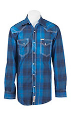 Rafter C Cowboy Collection Men's L/S Western Snap Shirt RCX1641602
