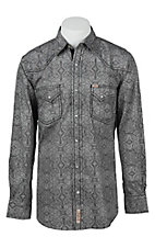 Rafter C Cowboy Collection Men's L/S Western Snap Shirt RCX1641604 - Big & Tall