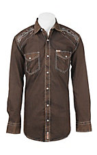 Rafter C Cowboy Collection Men's L/S Western Snap Shirt RCX1641903