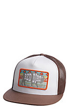 Red Dirt Hat Co. Brown and White Aztec Buffalo Cap