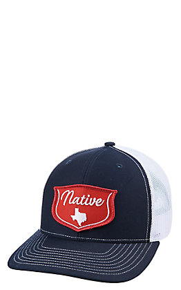 Red Dirt Hat Co. Navy Blue Native Texas Cap