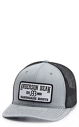 Red Dirt Hat Co. Grey And White Anderson Bean Patch Cap