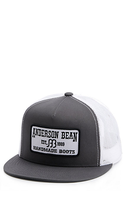 5f9f56161 Red Dirt Hat Co. Grey And Black Anderson Bean Patch Cap