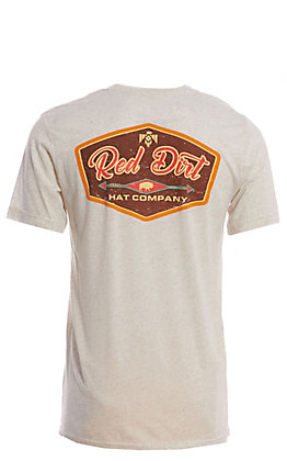 Red Dirt Hat Co. Men's Khaki Graphic T-Shirt