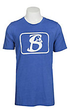 Stackin Bills Men's Blue and White Logo S/S T-Shirt