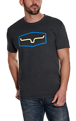 Kimes Ranch Men's Charcoal Logo T-Shirt