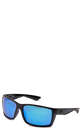 Costa Reefton Blue Mirror Blackout Sunglasses