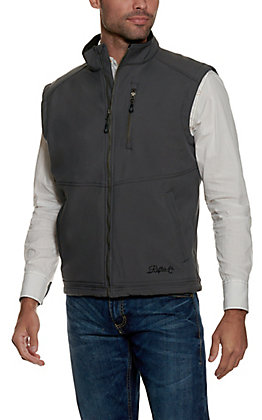 Rafter C Men's Grey Sleeveless Bonded Vest