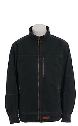 Rafter C Men's Dark Teal Canvas Jacket