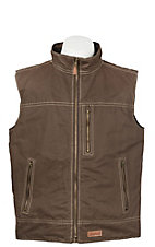 Rafter C Men's Espresso Canvas Vest