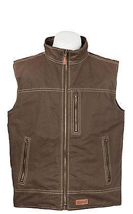 Rafter C Men's Espresso Canvas Vest