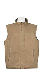 Rafter C Men's Khaki Canvas Vest