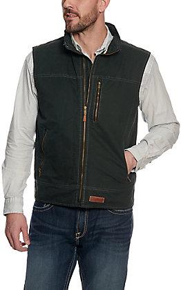 Rafter C Men's Dark Teal Canvas Vest