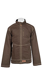 Rafter C Men's Espresso Canvas Jacket