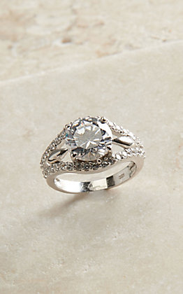 Montana Silversmiths Women's Star Lights First Star I See Tonight Ring - Size 8