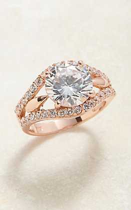 Montana Silvermiths First Star At Sunset Rose Gold Ring