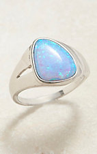 Montana Silversmiths Abstract Opal Ring