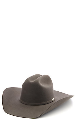 Resistol 6X Houston Charcoal Fur Felt Cowboy Hat