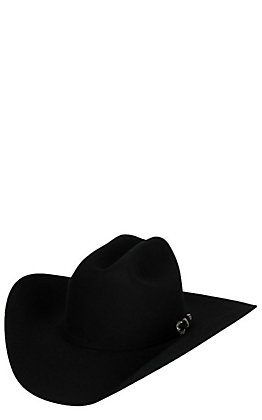 Resistol 6X George Strait Collection Heartland Black Felt Cowboy Hat