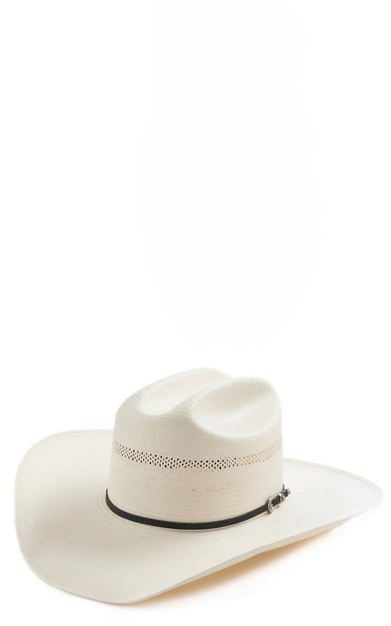 Resistol 7X Wyoming Vent Cattleman Crown Cowboy Hat  34a9be9576a
