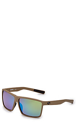 Costa Rincon Green Mirror Matte Moss Sunglasses